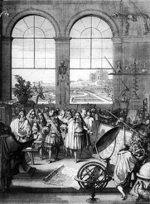 Academie des Sciences c1671 (photo credit Wikipedia)
