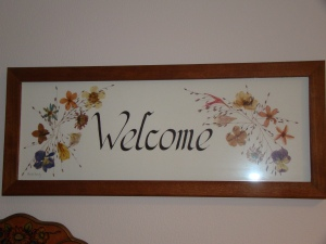 How do you decide what to welcome, or accept?