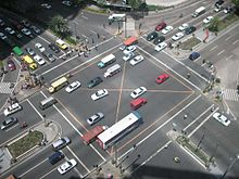 photo credit: Wikipedia, Makati intersection