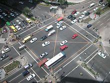 photo credit: Wikipedia, Makati intersection
