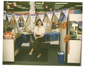 Memory of birthday decor past... (not telling how long past)