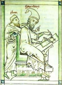 Socrates & Plato are still teaching us.  (photo credit: Wikipedia)