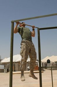 photo credit: Wikipedia, Marine Pull ups