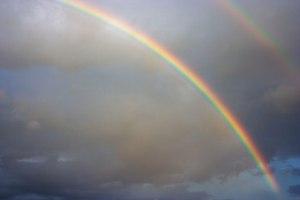 public domain rainbow image