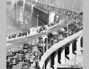 Public domain image, Bay Bridge