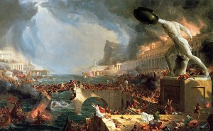 The Course of Empire Thomas Cole, 1836 - public domain image